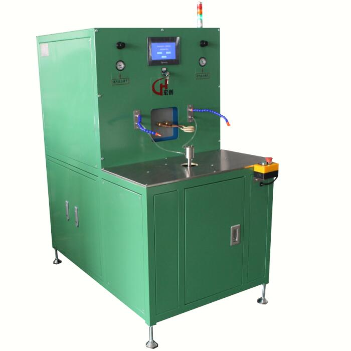 Dispenser welding machine